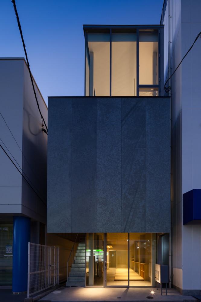 淡路の碁会所ビル 榊原節子建築研究所