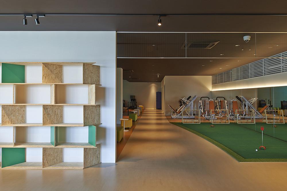 natura green golf club 箕面 |榊原節子建築研究所